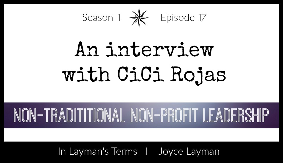 Episode 17 – Non-traditional Non-profit Leadership