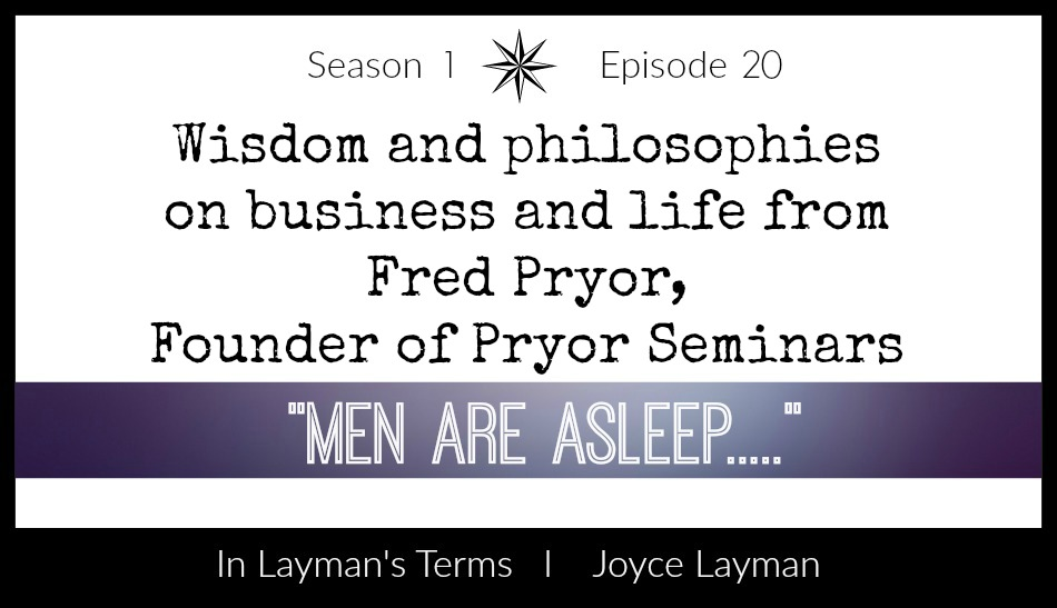 Episode 20 – Men Are Asleep