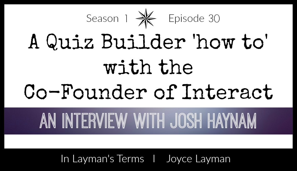 Episode 30: An interview with Josh Haynam